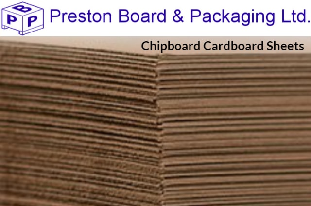 chipboard cardboard sheets