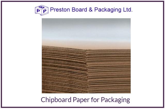 Chipboard paper packaging